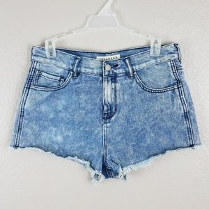 High-rise Bullhead Denim shorts